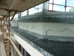 Leadwork to Cills and Ledges