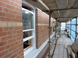 16-20 Waterloo Street: Brickwork Re-pointed & Sash Windows Repaired