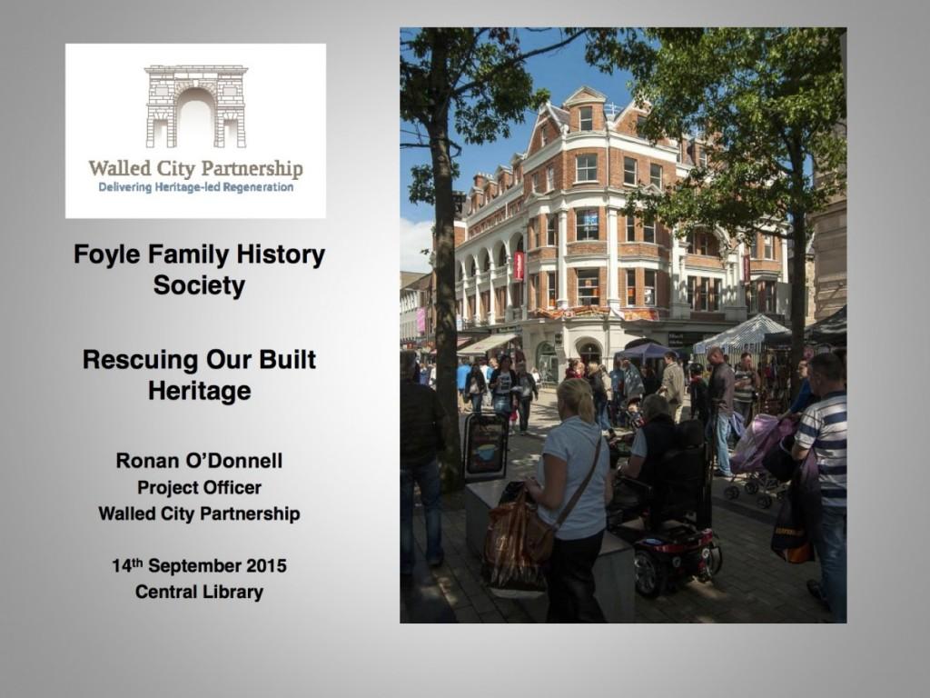 Foyle Family History Society Presentation Sept 2015[1]