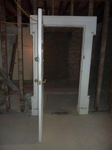 Repairing and preserving original door frames
