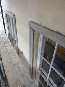 Window reveals introduced to compliment adjacent properties