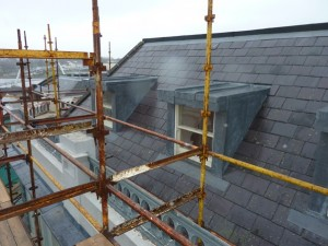 New lead Dormers constructed.