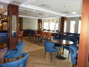 Restaurant following fitting out.